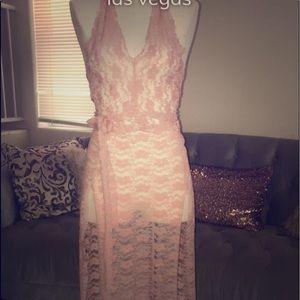 Babee 2 piece halter dress